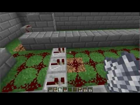 Minecraft Tutorial: Retractable Bridge Plugin