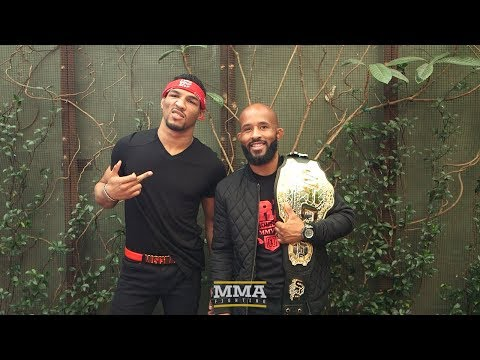 UFC 216: Kevin Lee and Demetrious Johnson Lunch Scrum - MMA Fighting