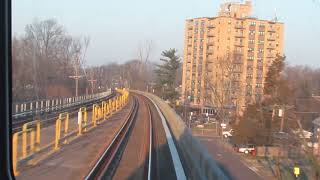PATCO New Car Express Run - Woodcrest to Ferry Ave Westbound