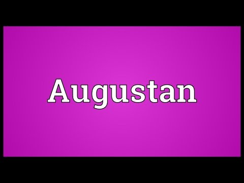 Augustan Meaning