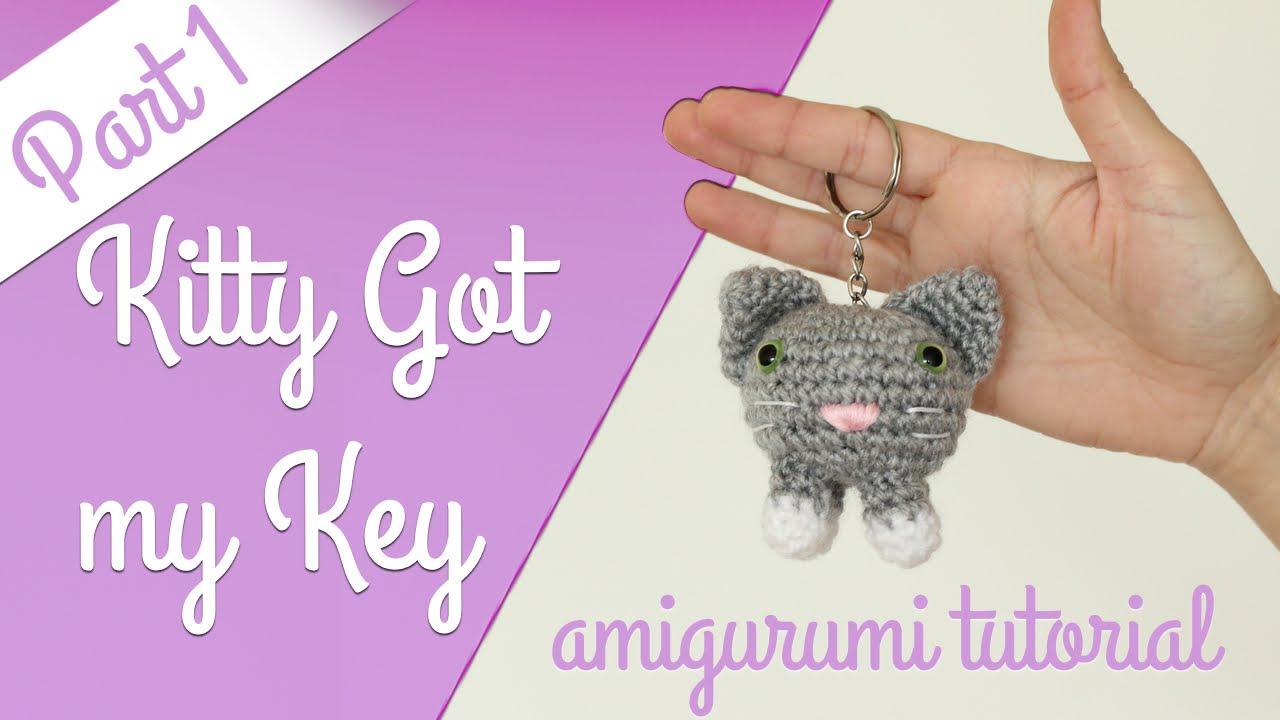 Amigurumi Cat Kawaii Keychain Crochet Free Pattern - Crochet ...   720x1280
