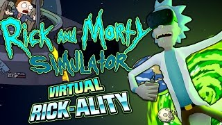 RICK & MORTY VIRTUAL RICK-ALITY FULL GAME + ENDING | 100% CANON