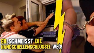 Tourette SCHMEIßT Handschellenschlüssel weg! 😳 24h ANEINANDER GEKETTET!! Gewitter im Kopf