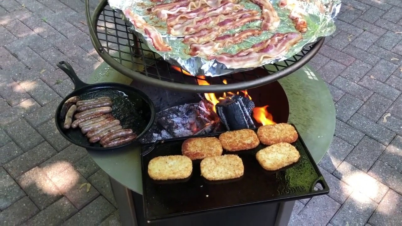 Breeo X Series Fire Pit Review Keeping The Sear Plate Looking New Youtube