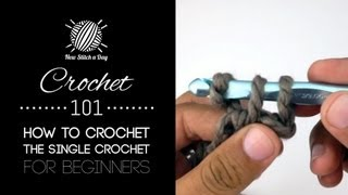 Baixar Crochet 101: How to Crochet the Single Crochet for Beginners