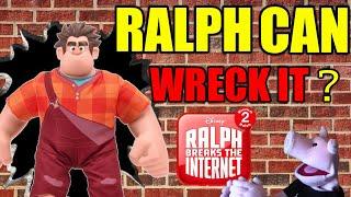 RALPH WRECKS THIS VIDEO? - WRECK-IT RALPH 2 WRECK ME RALPH Figure | SamTheHamTV
