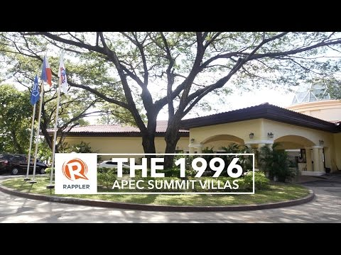 The 1996 APEC Summit villas