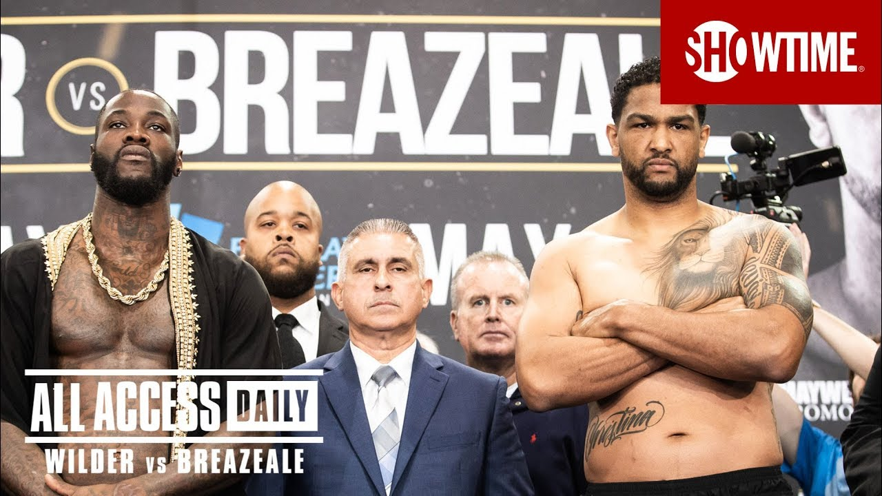 Download ALL ACCESS DAILY: Wilder vs. Breazeale   Part 4   SHOWTIME