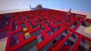 Een BETOVERD DOOLHOF?!! - Minecraft Map van een Kijker - Custom Map