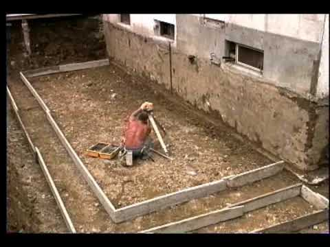 fondations construction - youtube - Fondation Pour Un Garage En Parpaings