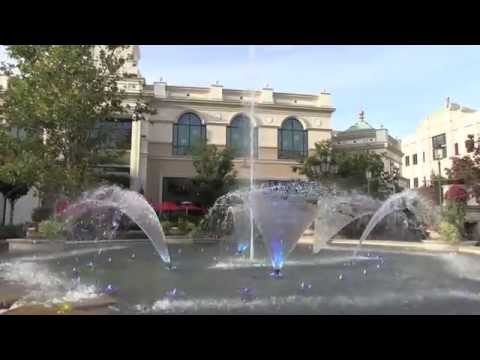 Station Park Musical Fountain Show: