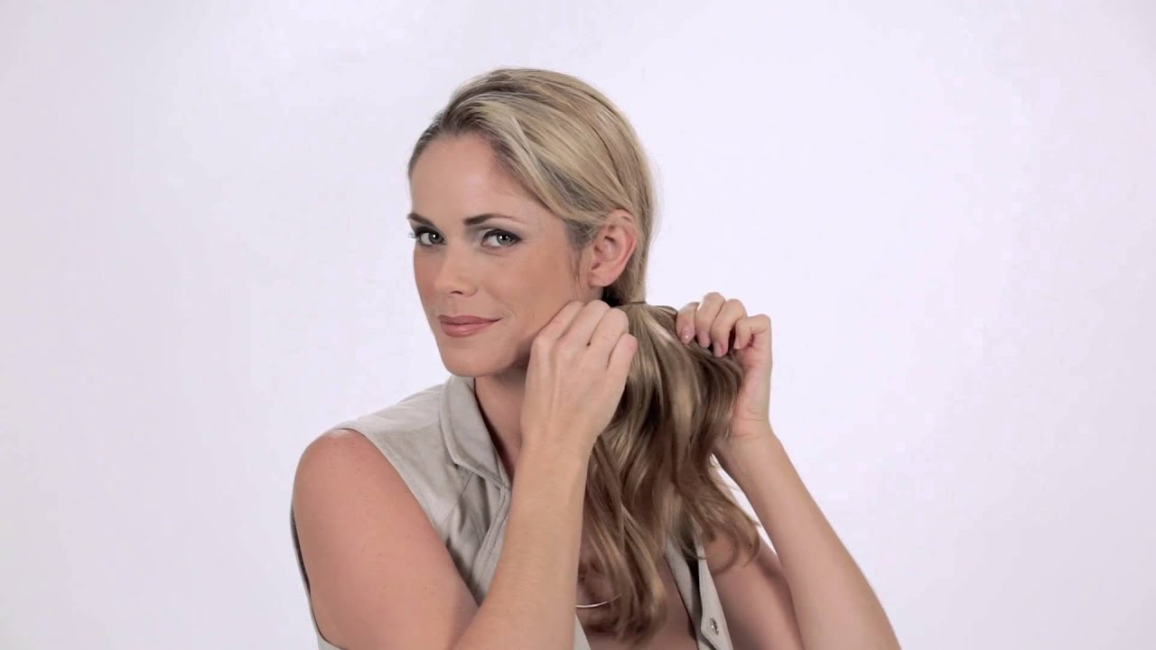 How To Clip In Pony Christie Brinkley Collection By Hair2wear