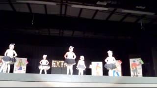 """Hope's dance recital 2015-Tap Dance """"Alley Cat"""""""