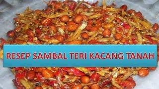 RESEP SAMBAL TERI KACANG TANAH