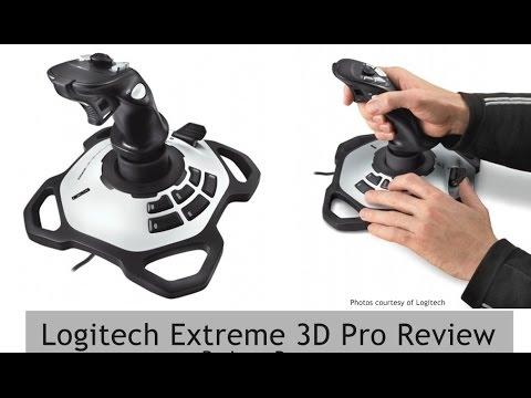 Unboxing gamepad Logitech Extreme 3D Pro - Лучший геймпад 2014 .