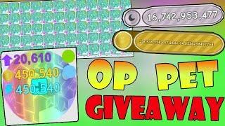 *OP* PET GIVEAWAY!!! ( Free pets )- 🐾 Roblox Pet Simulator