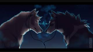 Anime Wolves - Alone