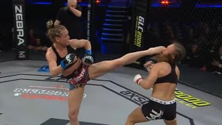 The Best 23 FEMALE Head Kick KO's of all time!