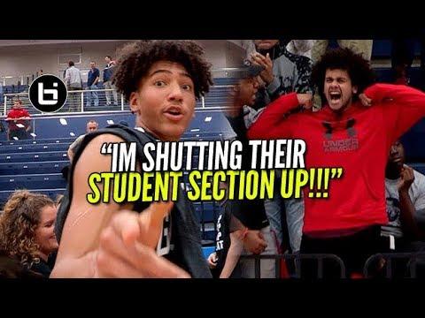 """""""I'M SHUTTING THEIR STUDENT SECTION UP"""" #1 Denton Guyer VS Allen Full Highlights"""
