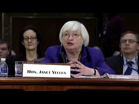 Reed Questions Janet Yellen at Banking Committee Hearing