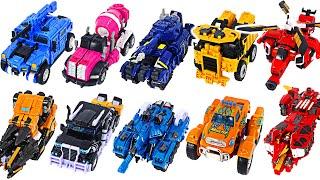 Miniforce X 5 combine Pentatron VS Tobot V 6 combine Mater V  DuDuPopTOY