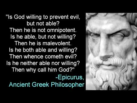 Why Call Him God? -Epicurus