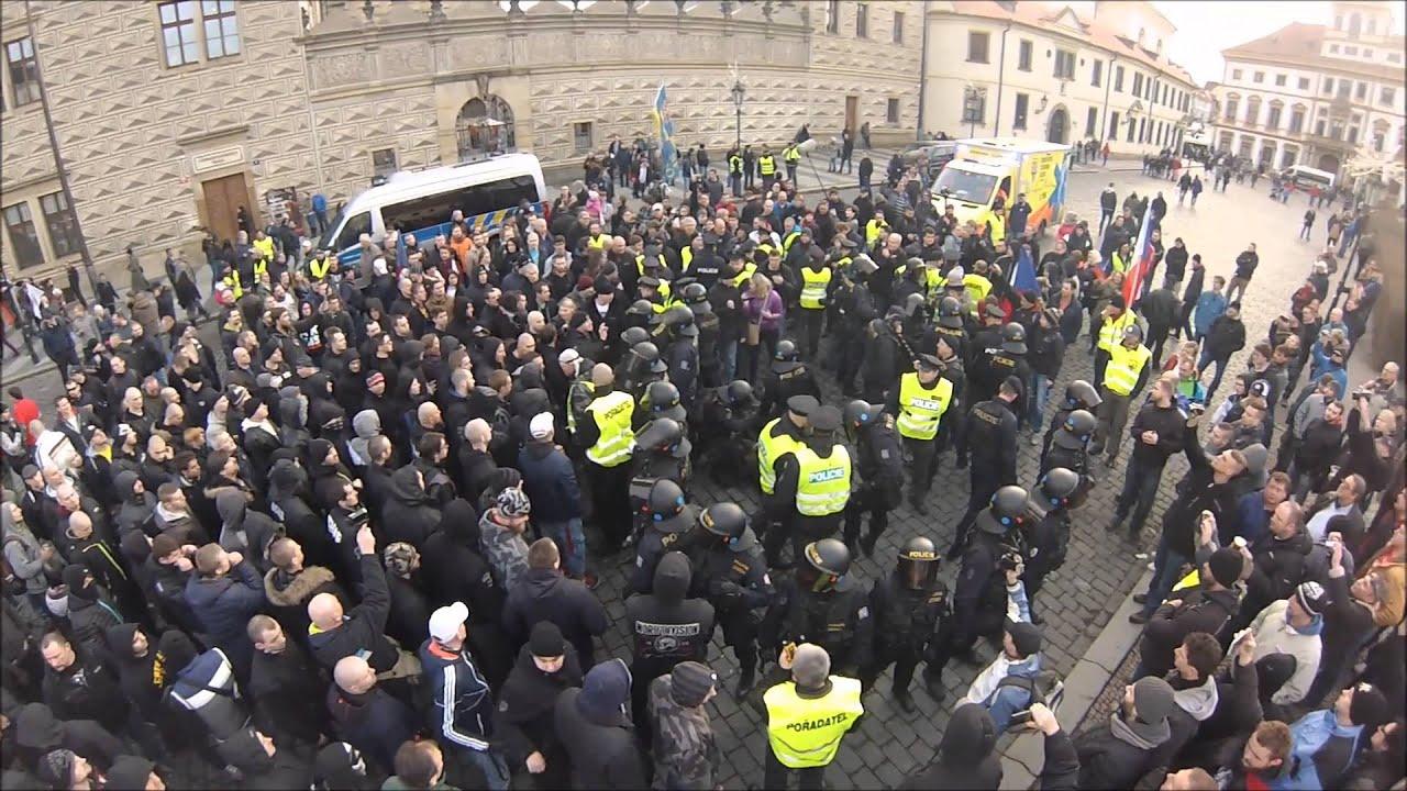 Demonstrace v praze 2016