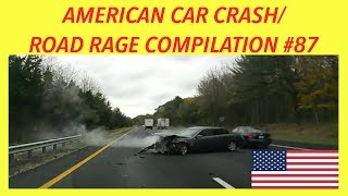 🇺🇸 [US ONLY] AMERICAN CAR CRASH/ROAD RAGE COMPILATION #87