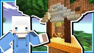 【Minecraft | 暮光森林】#11 教你一瞬間用爆鎬子❗寬敞巨大的樹屋完成囉😁 thumbnail