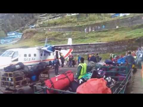 Lukla Airport  (Tenzing-Hillary Airport )Everest Base Camp Trekking www.nepalguideinfo.com