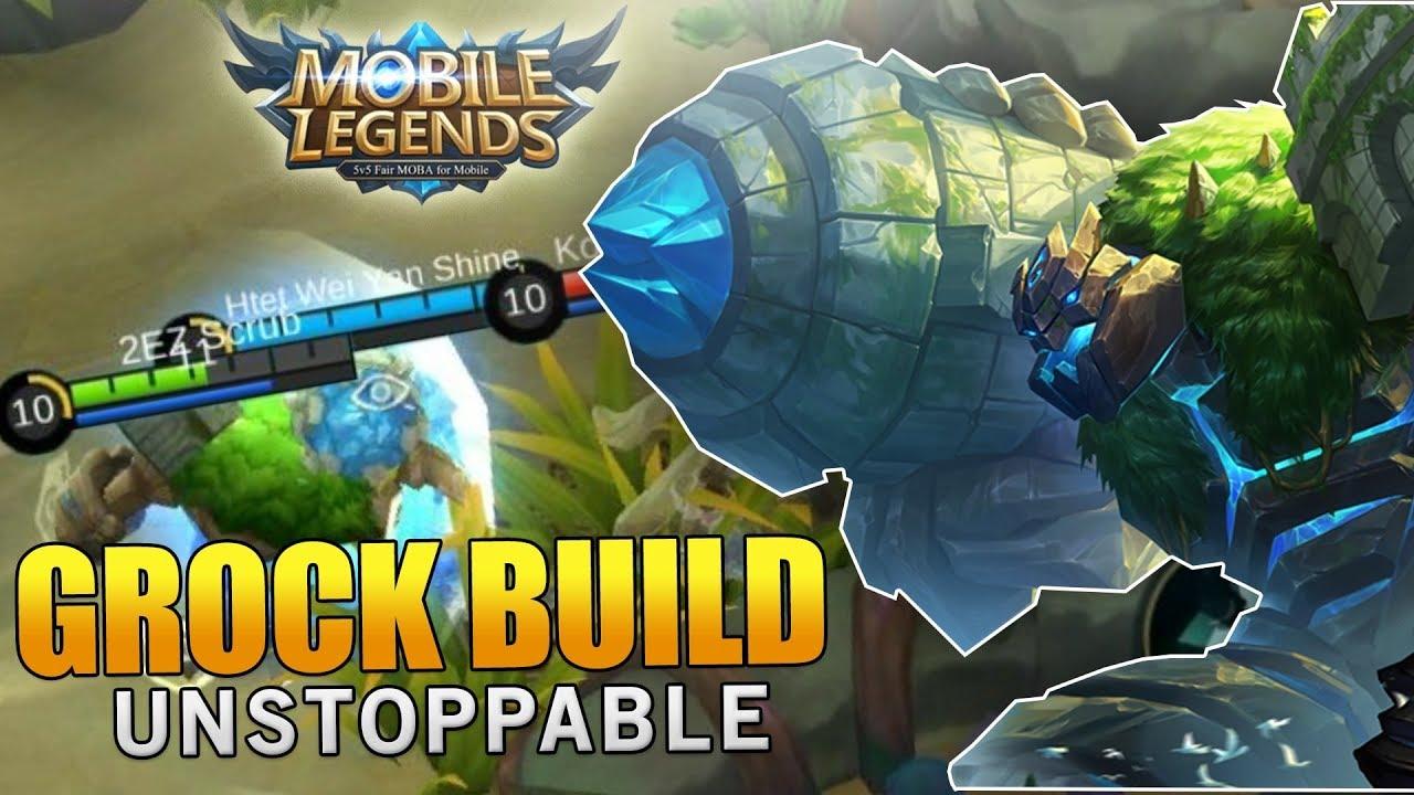 88+ Gambar Mobile Legends Grock HD Terbaik