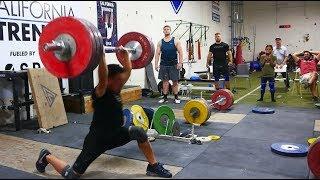 Alex Lee vs 175kg Clean & Jerk