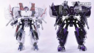 013 A-04 TakaraTomy Alternity Starscream and Skywarp - TF Source Video Review 013