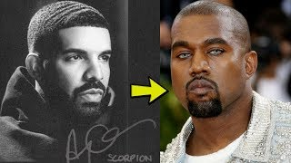 "DRAKE EXPOSE KANYE West AS ""GAY"" In New SONG SCORPION"