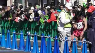 第51回青梅マラソン  ゴール地点  神野大地日本人トップ   2017.2.19 thumbnail