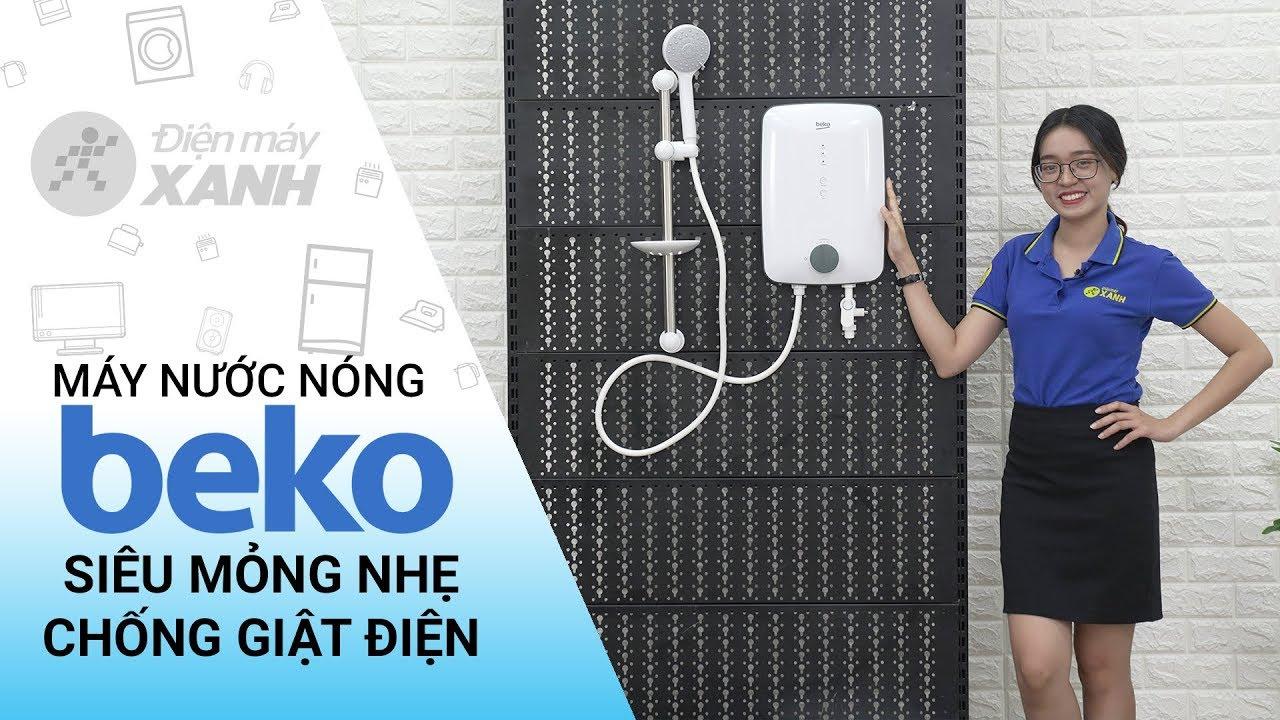 Máy nước nóng Beko: chống giật điện, chống bỏng da (BWI45S1N-213) • Điện máy XANH