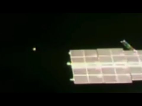 UFO At Space Station For 40min, (Sped up video 4X) Sept 2020, UFO Sighting News.