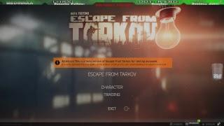 Vamos Para Tarkov. !Escape...
