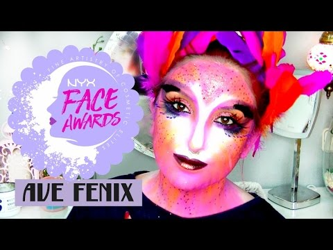 Makeup Ghost Madame Butterfly Nyx Spain Face Awards 2016 By T Clan
