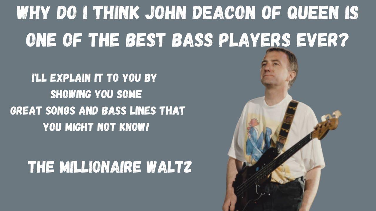 John Deacon is the bass player of Queen