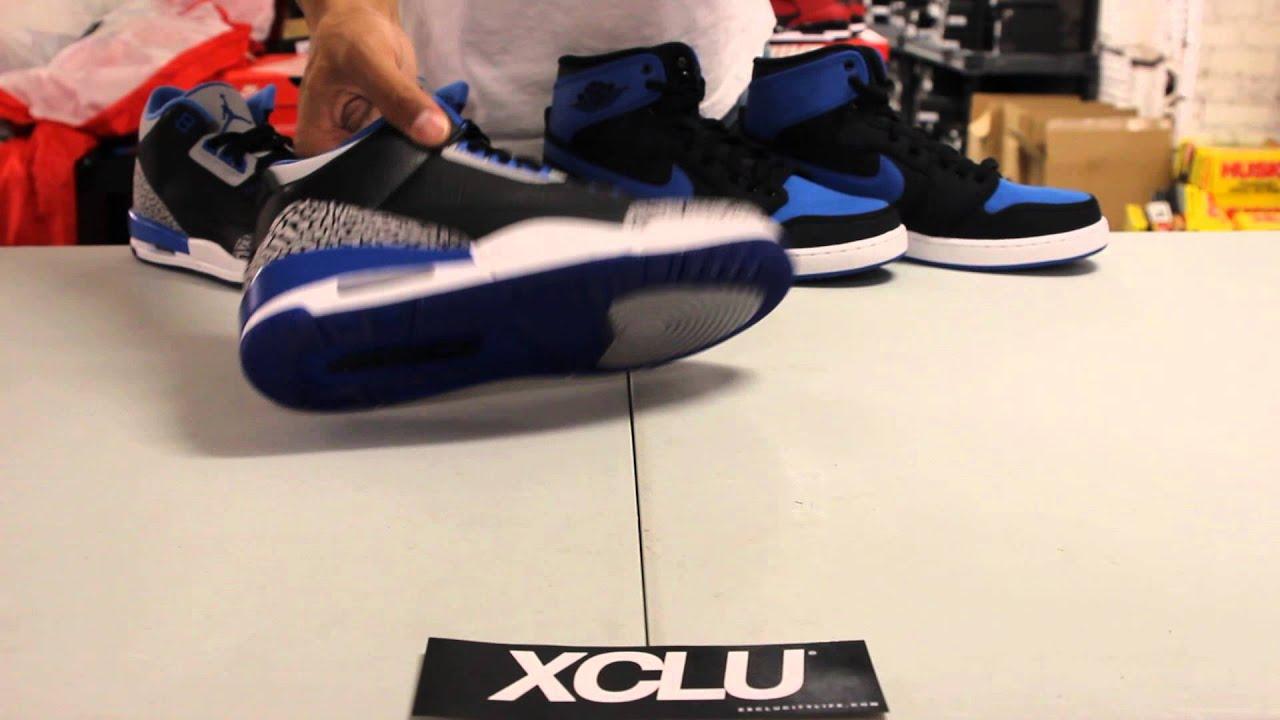 14abd5a27776 Air Jordan 3 Retro - Sport Blue - Unboxing Video at Exclucity - YouTube