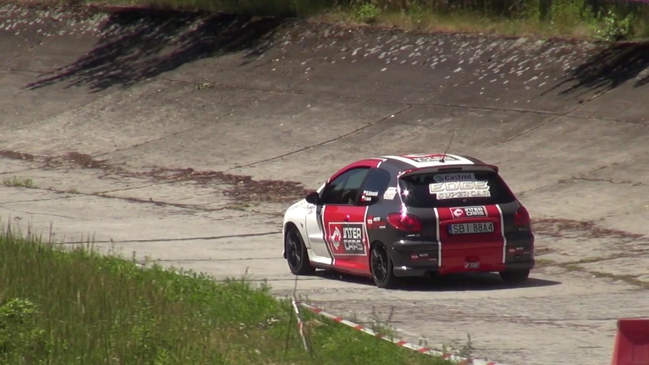 4 Runda SMT 2017 – Michał Adamaszek / Paweł Solich – Peugeot 206