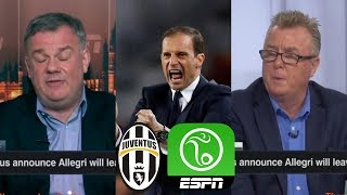 [FULL] ESPN FC 5/17 | Juventus announce Allegri leave this summer;Man City vs Watford preview FA Cup