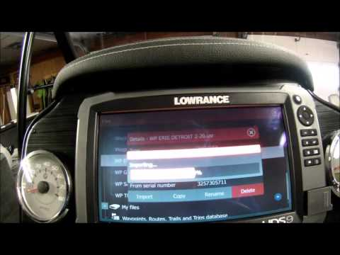 Lowrance HDS Gen 3 Settings and Features