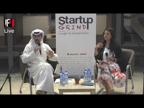 Startup GRIND Muscat - Abdulaziz Alloughani, At The Innovation Factory