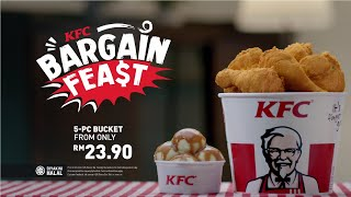 KFC Bargain Feast - Fills the stomach without feeling the pinch