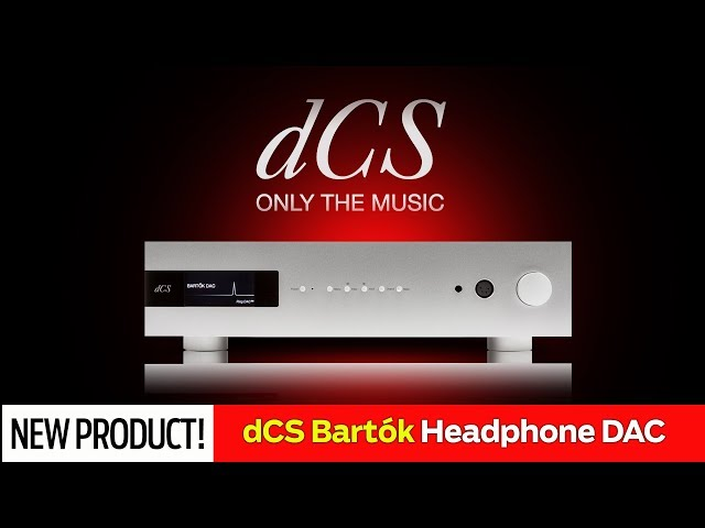 dCS Bartók - Streaming DAC w/ Optional Headphone Amp