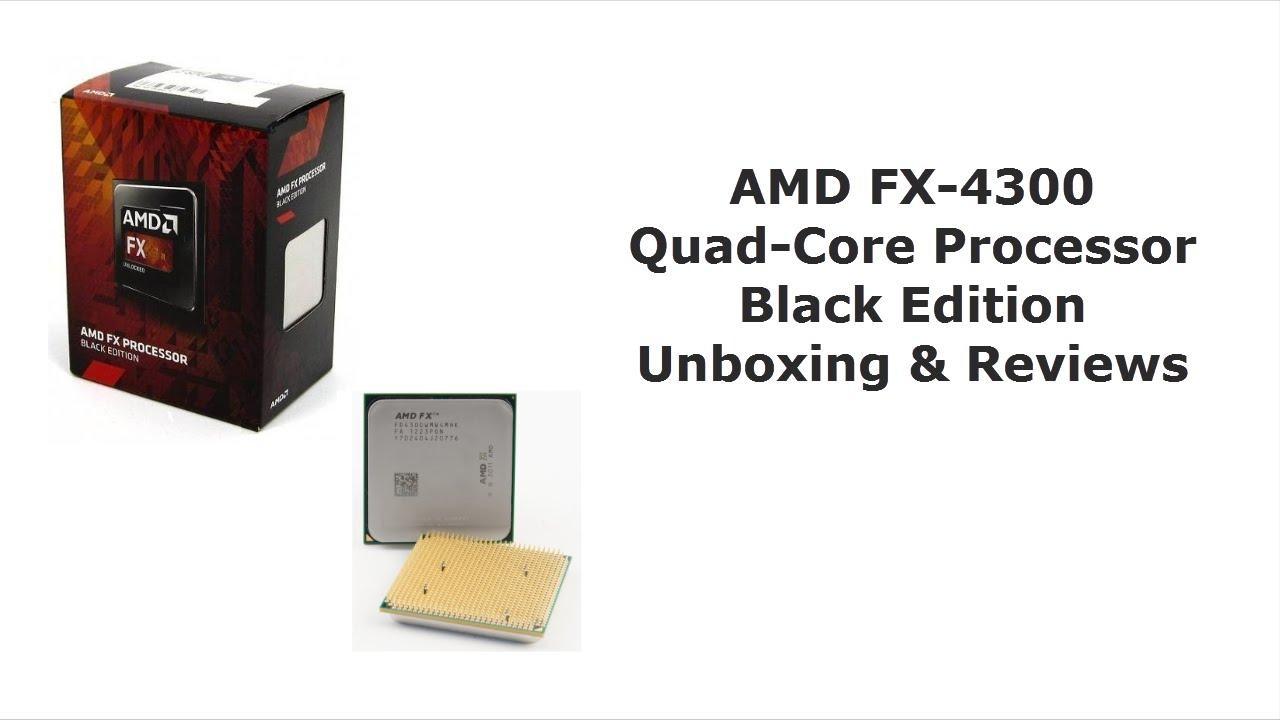 Amd Fx 4300 Black Edition Quad Core Processor