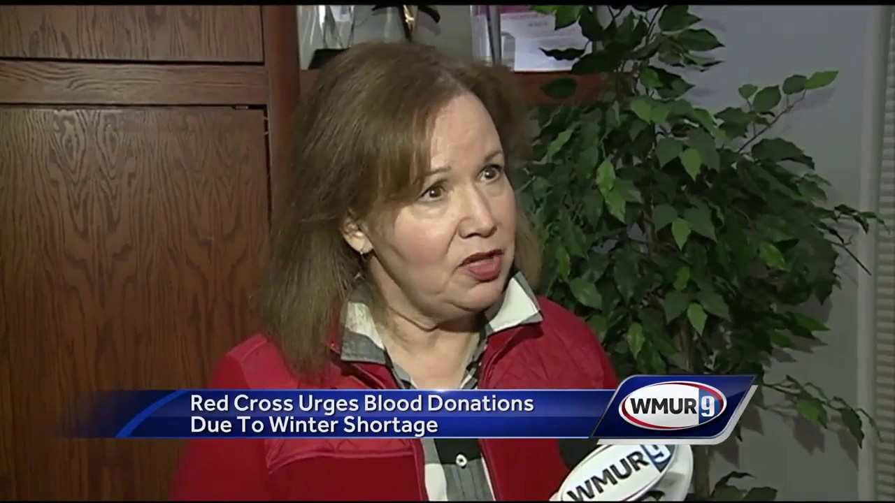 Critical blood shortage at American Red Cross, donations needed