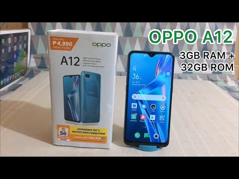 New Budget Phone in 2021 || Unboxing Review of the OPPO A12 3GB RAM+32GB ROM : Gaming & Performance